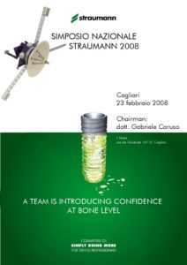2008 - Simposio Nazionale Straumann - A team is introducing confidence at bone...