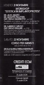 2014 - Workshop Estetica in Implantoprotesi - Fattori biomeccanici...